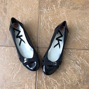 Anne Klein Black Ballet Flats